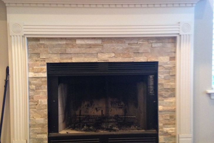 Wooden Fireplace Surround Ideas Awesome Fireplace Idea Mantel Wainscoting Design Craftsman