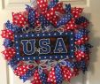 Wreath Over Fireplace Lovely 4th Of July Usa Wreath Military Wreath Labor Day Wreath