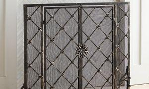 11 Fresh Wrought Iron Fireplace Doors