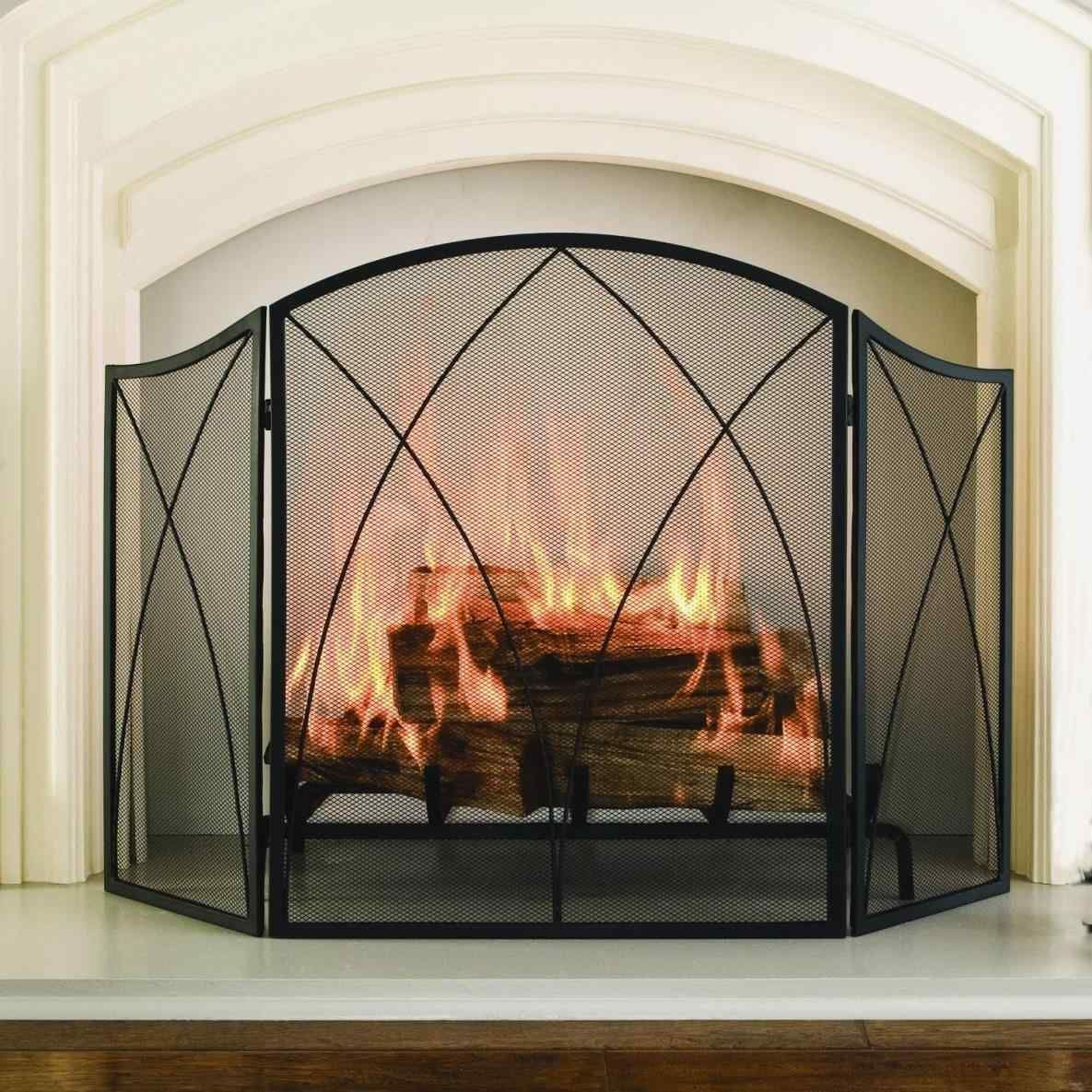 Wrought Iron Fireplace Screen Inspirational 11 Best Fancy Fireplace Screens Design and Decor Ideas