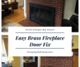 Beehive Fireplace Makeover Awesome Update Brass Fireplace Doors for Under $10 Everyday Old House