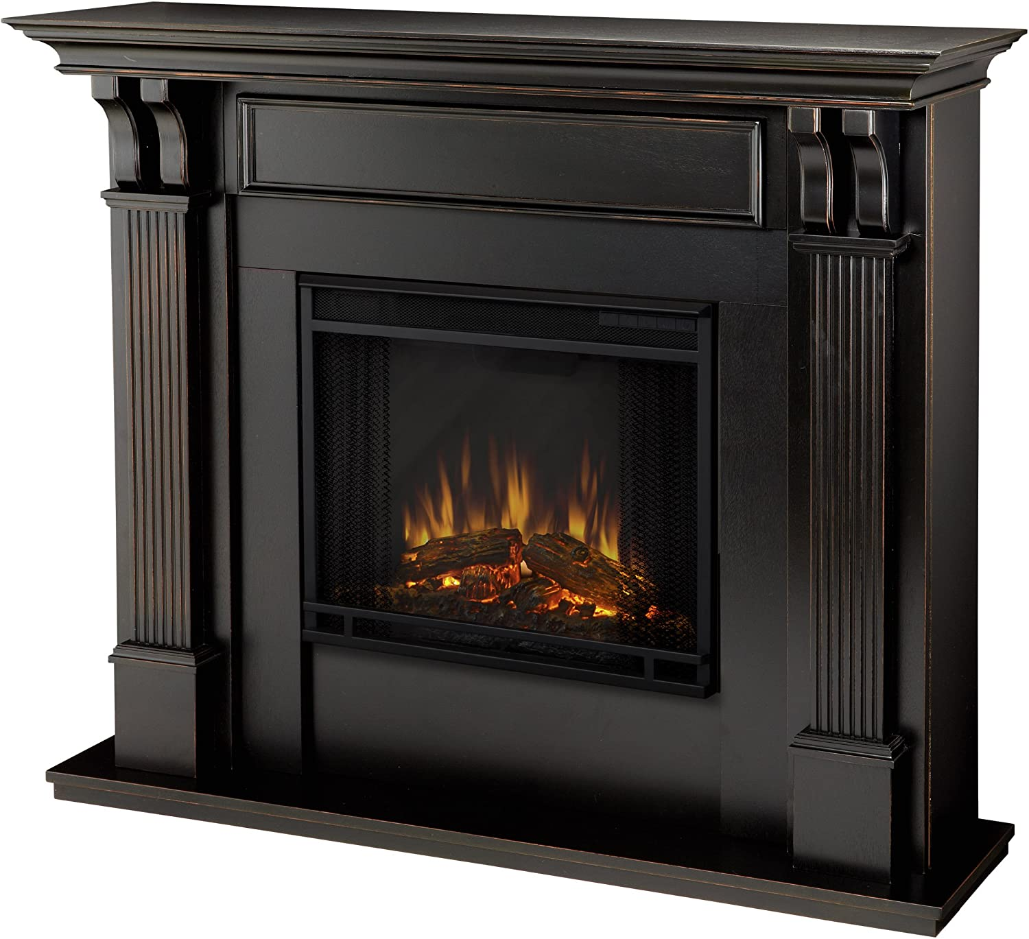 Callaway Grand Electric Fireplace New Real Flame 7100e Bw 7100e ashley Electric Fireplace Medium Blackwash