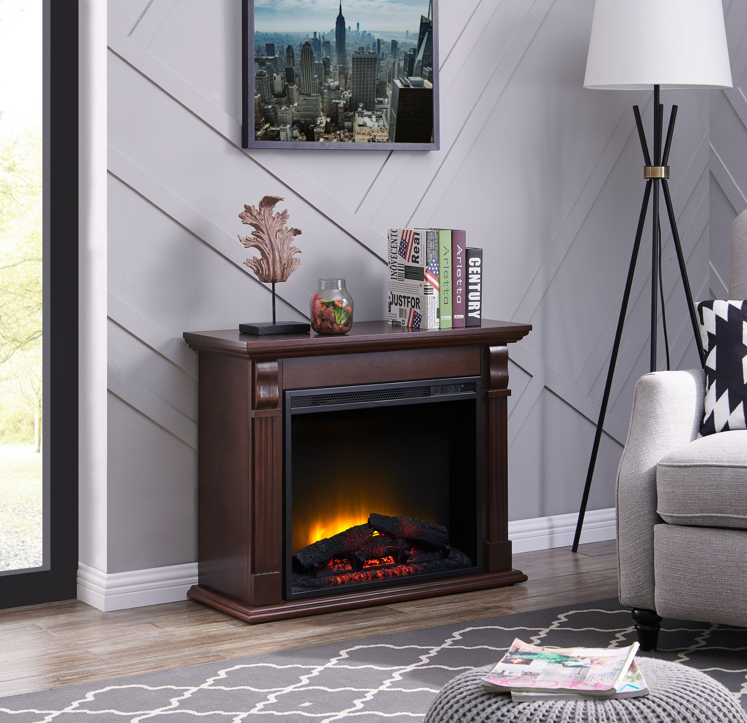 big lots fireplaces clearance beautiful bold flame 33 46 inch electric fireplace in chestnut of big lots fireplaces clearance