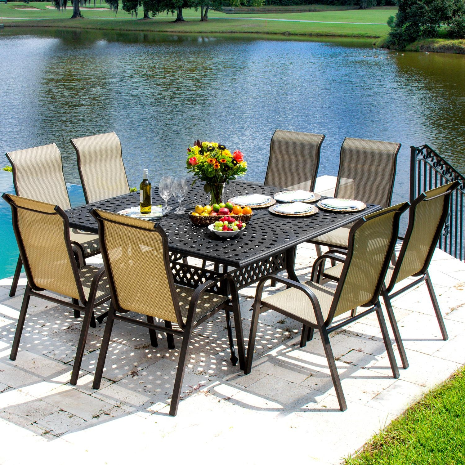 patio dining sets big lots furniture jcpenney 6 person set sears