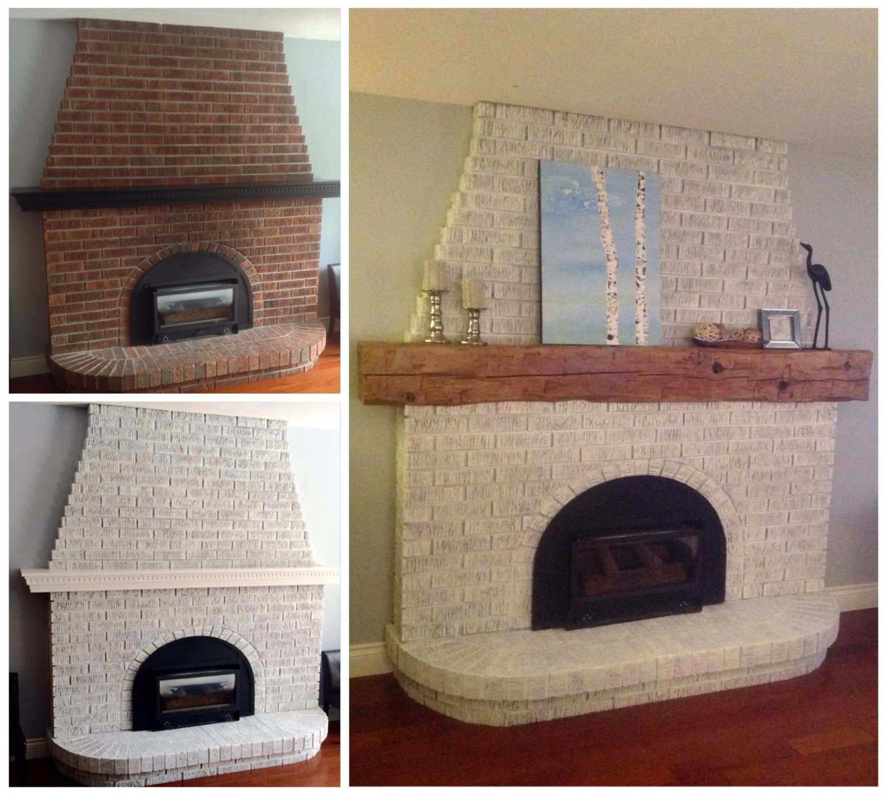 diy fireplace mantel ideas for brick fireplace makeover all home ideas outdoor of diy fireplace mantel