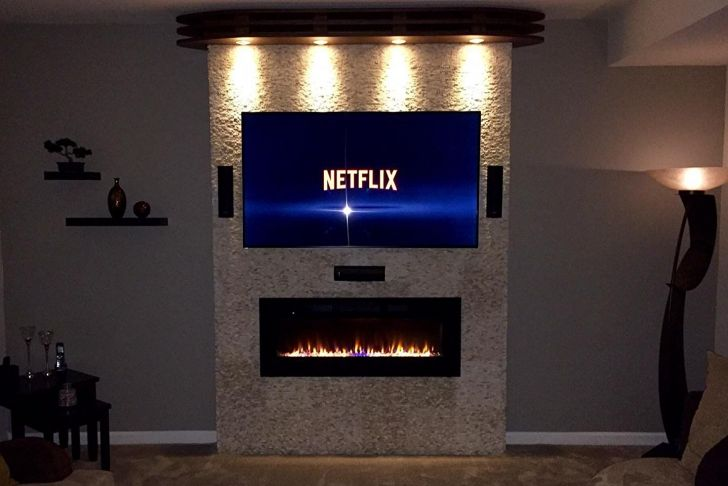 Electric Fireplace Entertainment Center Interior Design New Amazon Napoleon Efl50h Linear Wall Mount Electric