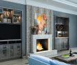 Electric Fireplace Entertainment Center Interior Design Unique Beautiful Living Rooms with Built In Shelving