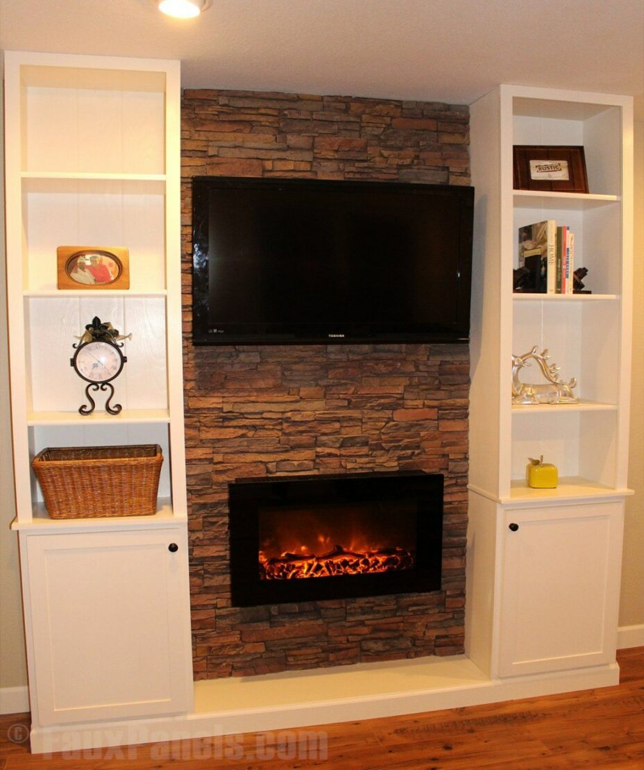 fake fireplace ideas faux fireplace ideas can also include your entertainment of fake fireplace ideas 928x1109