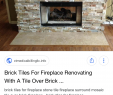 Fireplace Backsplash Ideas Unique Pin by Karen On New House