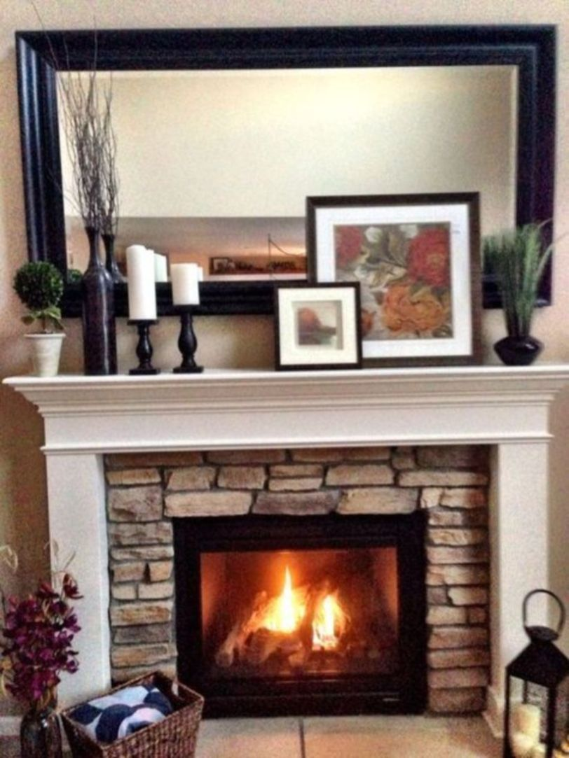 Fireplace Pictures Elegant 47 Awesome Small Fireplace Makeover Decoration Ideas