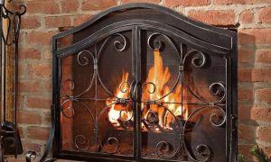 21 Luxury Fireplace Screen Ideas