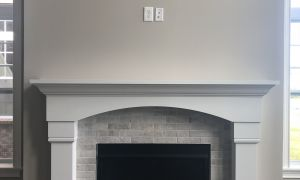 45 Lovely Fireplace Tile Design 2