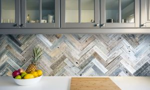 51 Inspirational Herringbone Backsplash
