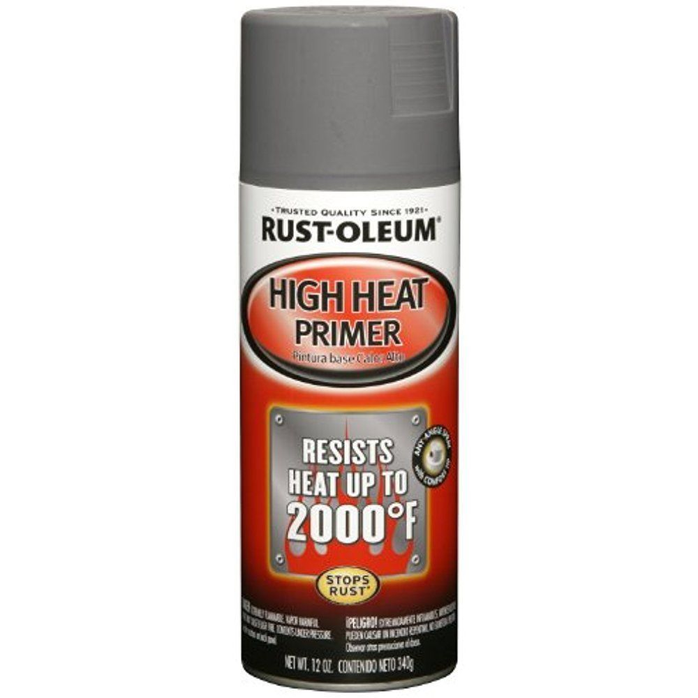 High Heat Paint Awesome Details About Rust Oleum High Heat Primer Spray Paint