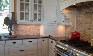 68 Awesome Kitchen Ideas with White Brick Backsplash