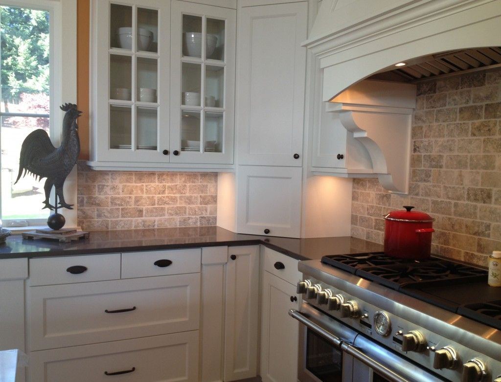 Kitchen Ideas with White Brick Backsplash Best Of Backsplash with White Cabinets and Black Countertops