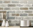Kitchen with Brick Backsplash Awesome Peel and Stick Backsplash Ideas Peel and Stick Wallpaper