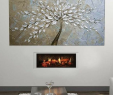 """Modern Corner Electric Fireplace Awesome Dimplex Opti V™ Duet 54"""" Ul Listed Built In Linear Electric"""