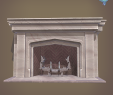 Rendering Fireplace Fresh Neo Gothic Fireplace