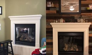 72 Fresh Rustic Wood Fireplace Surround