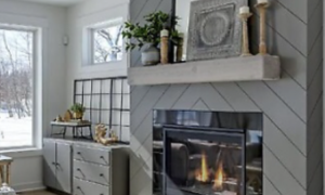 55 Unique Shiplap Fireplace Ideas