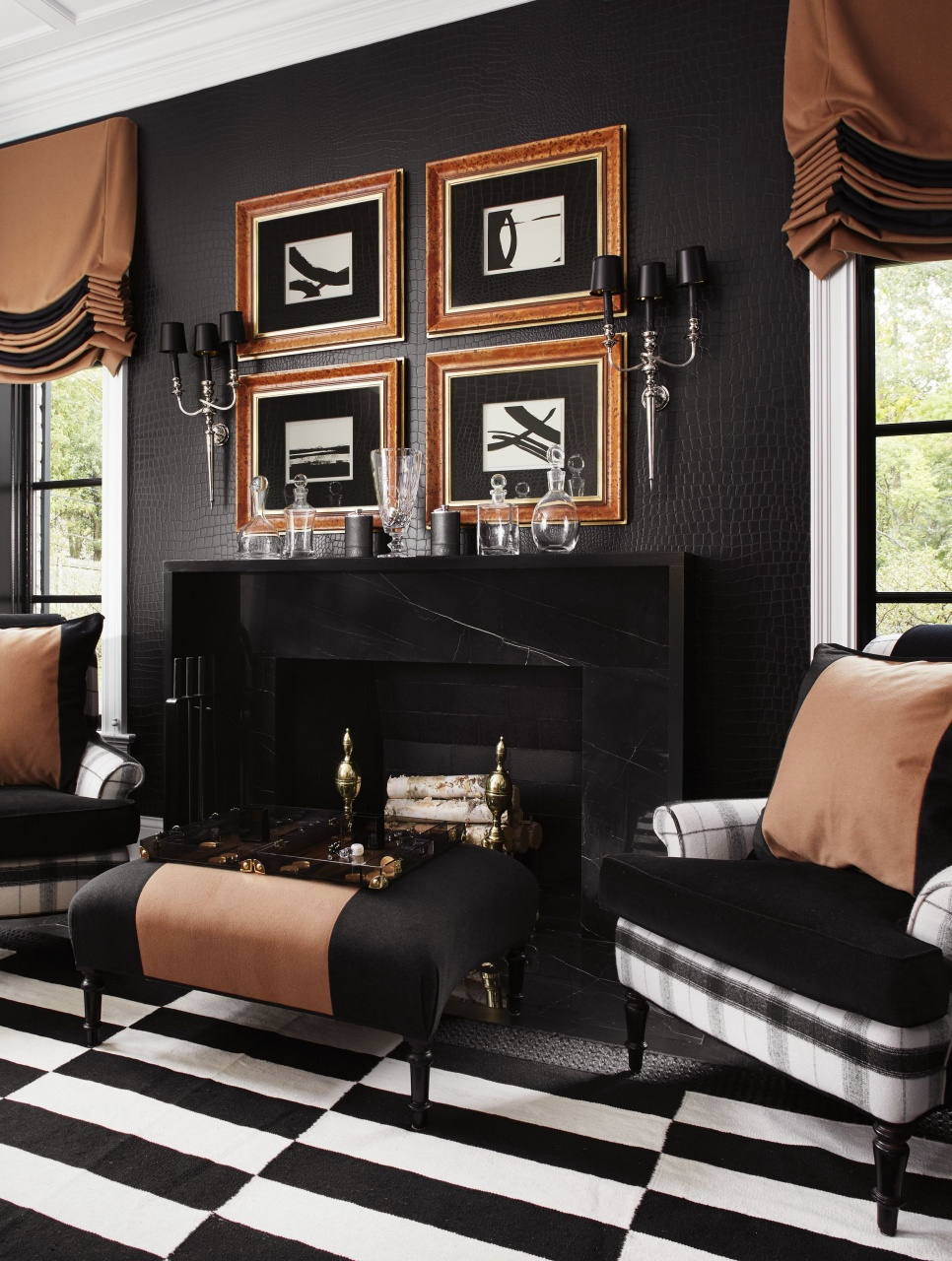 fall room decor ideas pin by anna damianidou on a touch of black from fall room decor ideas