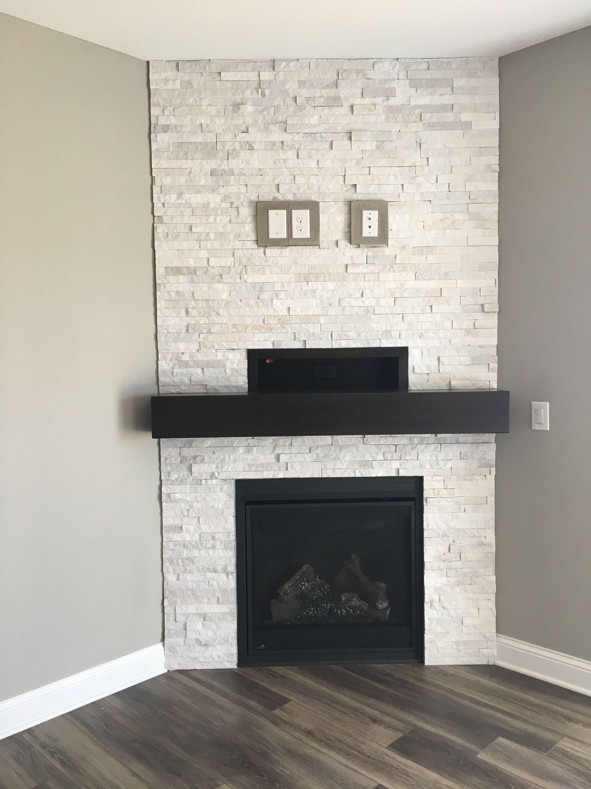 Stone Fireplace with Wood Mantel Beautiful Pin On Fireplace Ideas We Love