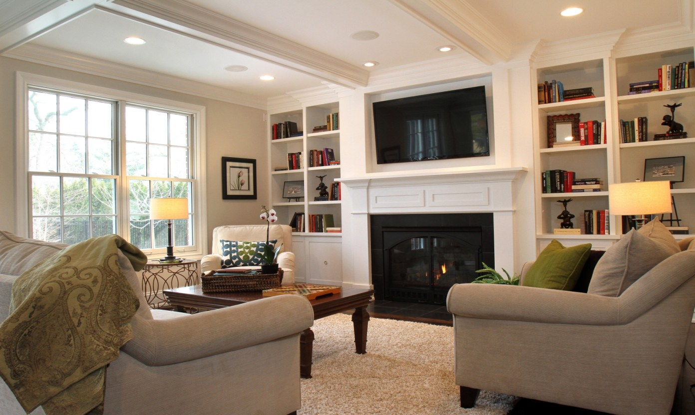 tv wall ideas family room design with tv and fireplace of tv wall ideas 1