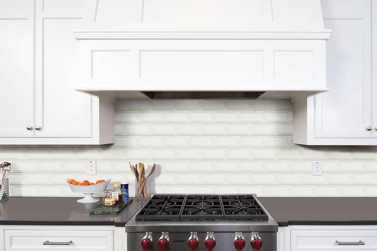 White Brick Backsplash Best Of This White Subway Tile is 3x6 and Features Beveled Edges