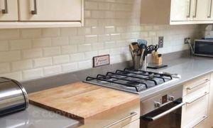 46 Awesome White Brick Backsplash In Kitchen