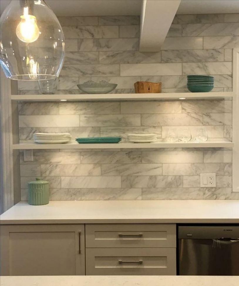 White Kitchen Brick Backsplash Luxury White Brick Backsplash In Kitchen Collection White Washed