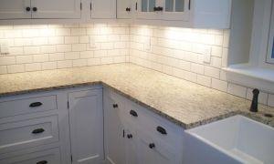 71 New White Subway Tile Herringbone Backsplash