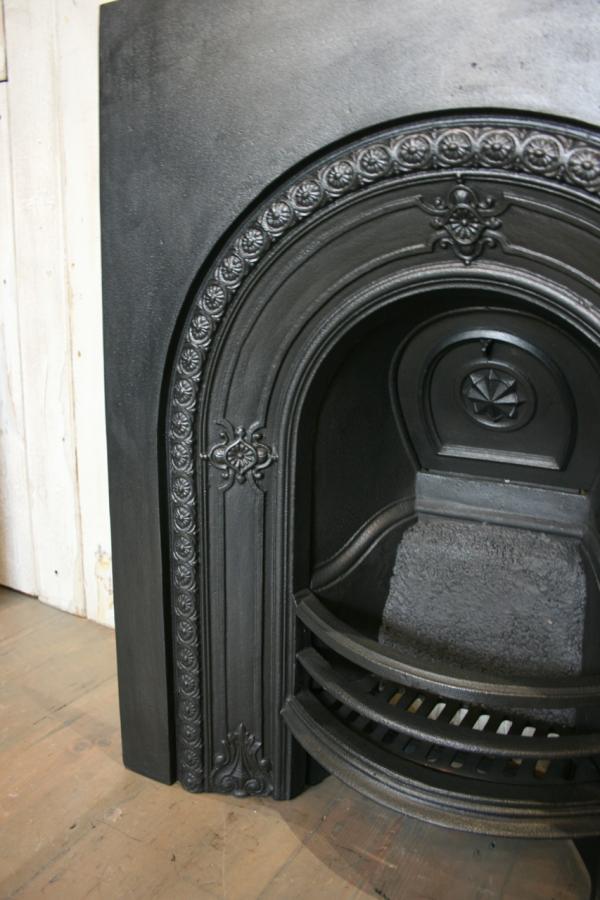 Antique Victorian fireplace insert 4