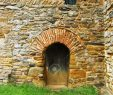 Arched Fireplace Door Lovely Ancient Sandstone Wall with Arched Door