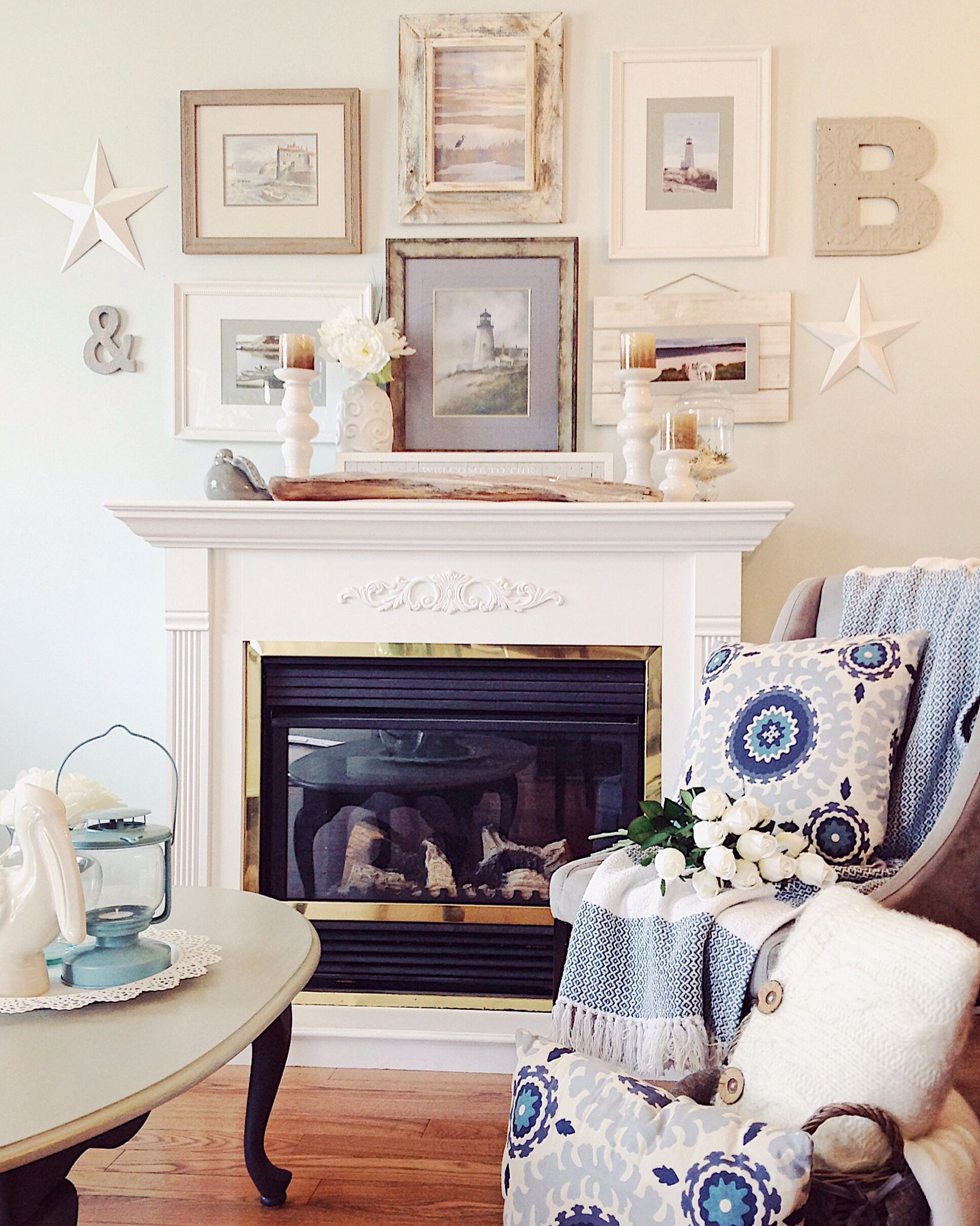 East Coast Fireplace Best Of Coastal Farmhouse Living Room with Restored Fireplace