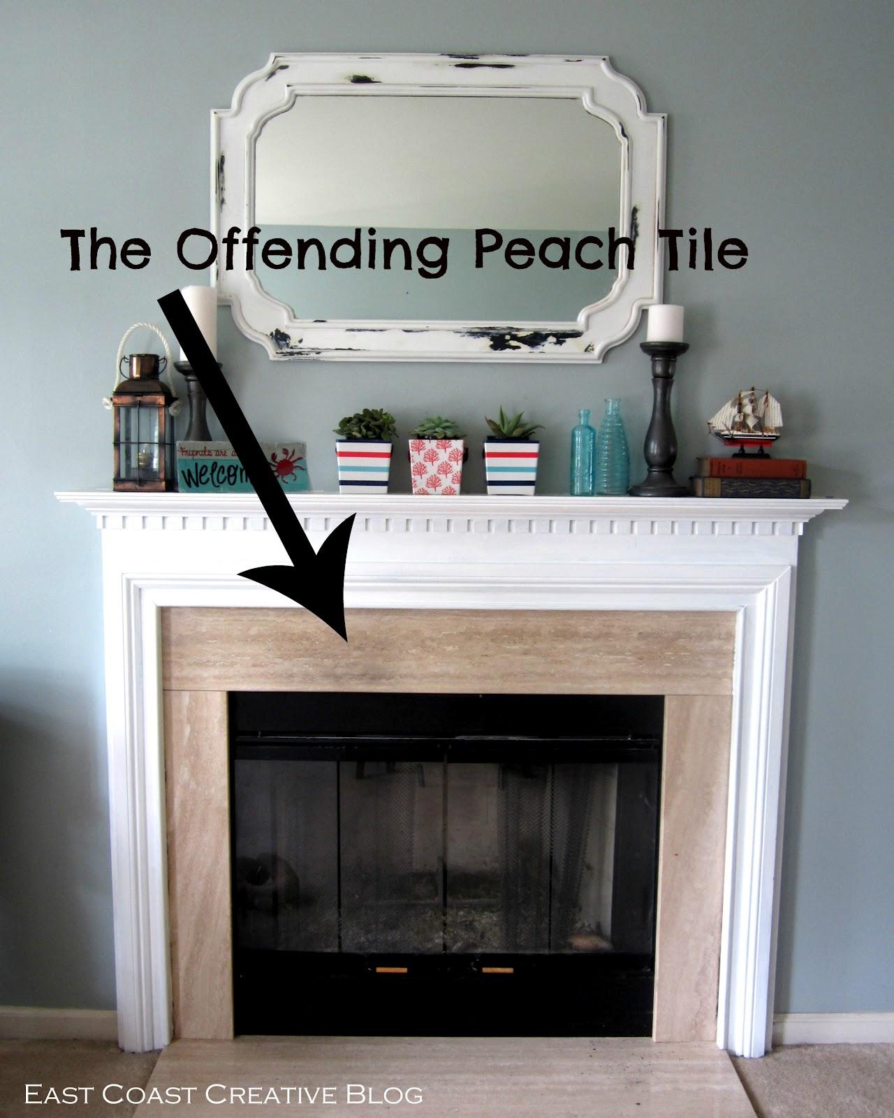 offending peach tile