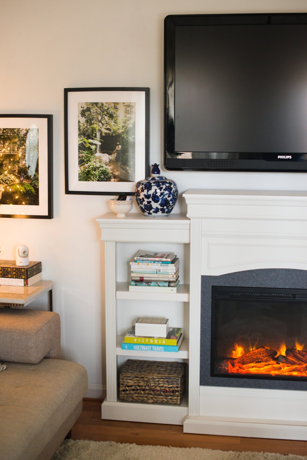 Electric Fireplace with Bookcase Elegant Domestic Fashionista All About Our Electric Fireplace