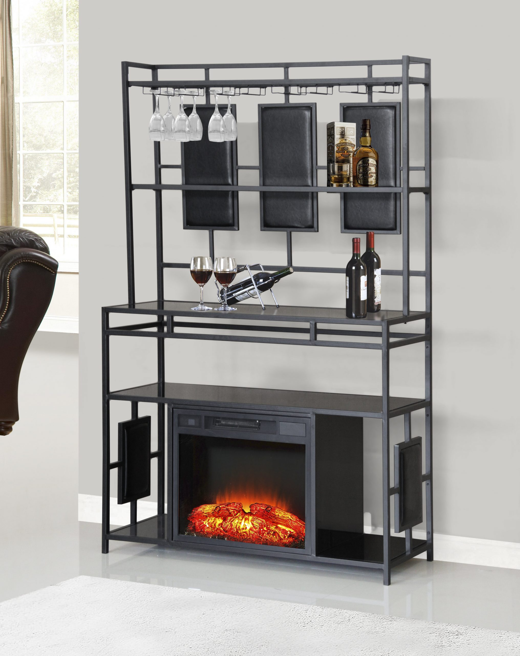 Electric Fireplace with Bookcase Lovely Avalon Electric Fireplace