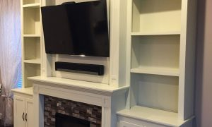 77 Beautiful Electric Fireplace with Bookcase