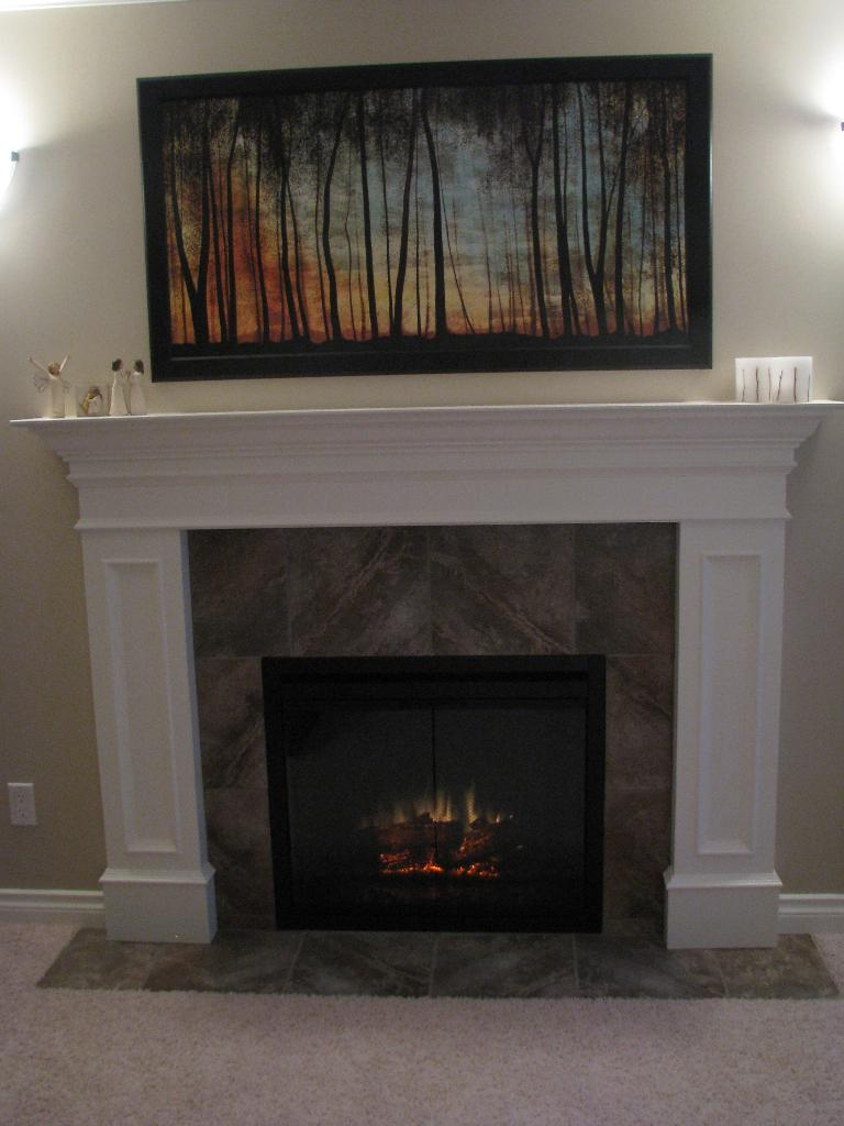 attractive tv stand with built in electric fireplace medium cabinet wall mount