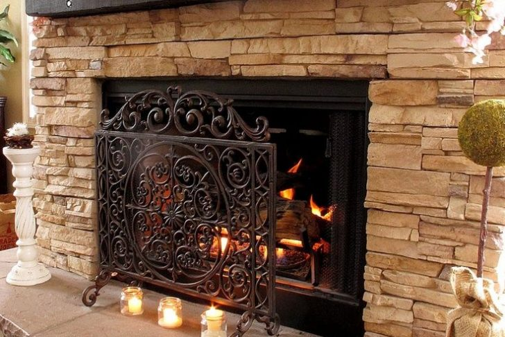Fireplace Rocks Best Of 34 Beautiful Stone Fireplaces that Rock