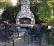 Fireplace Rocks Best Of River Rock Outdoor Fireplace Wood Burning Fireplace with