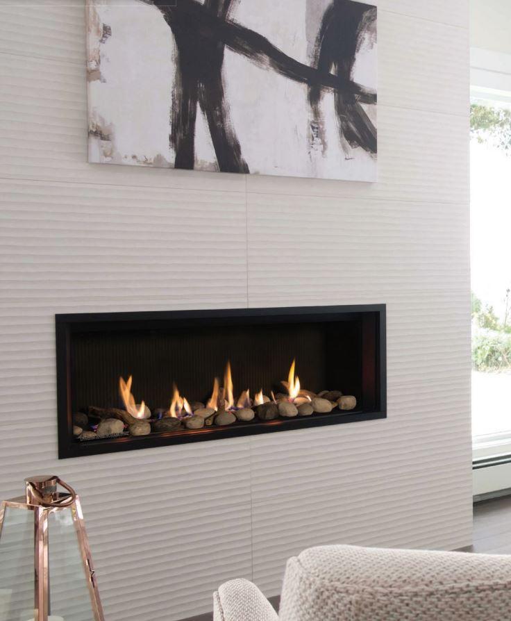 Fireplace Rocks Elegant L1 Gas Fireplace