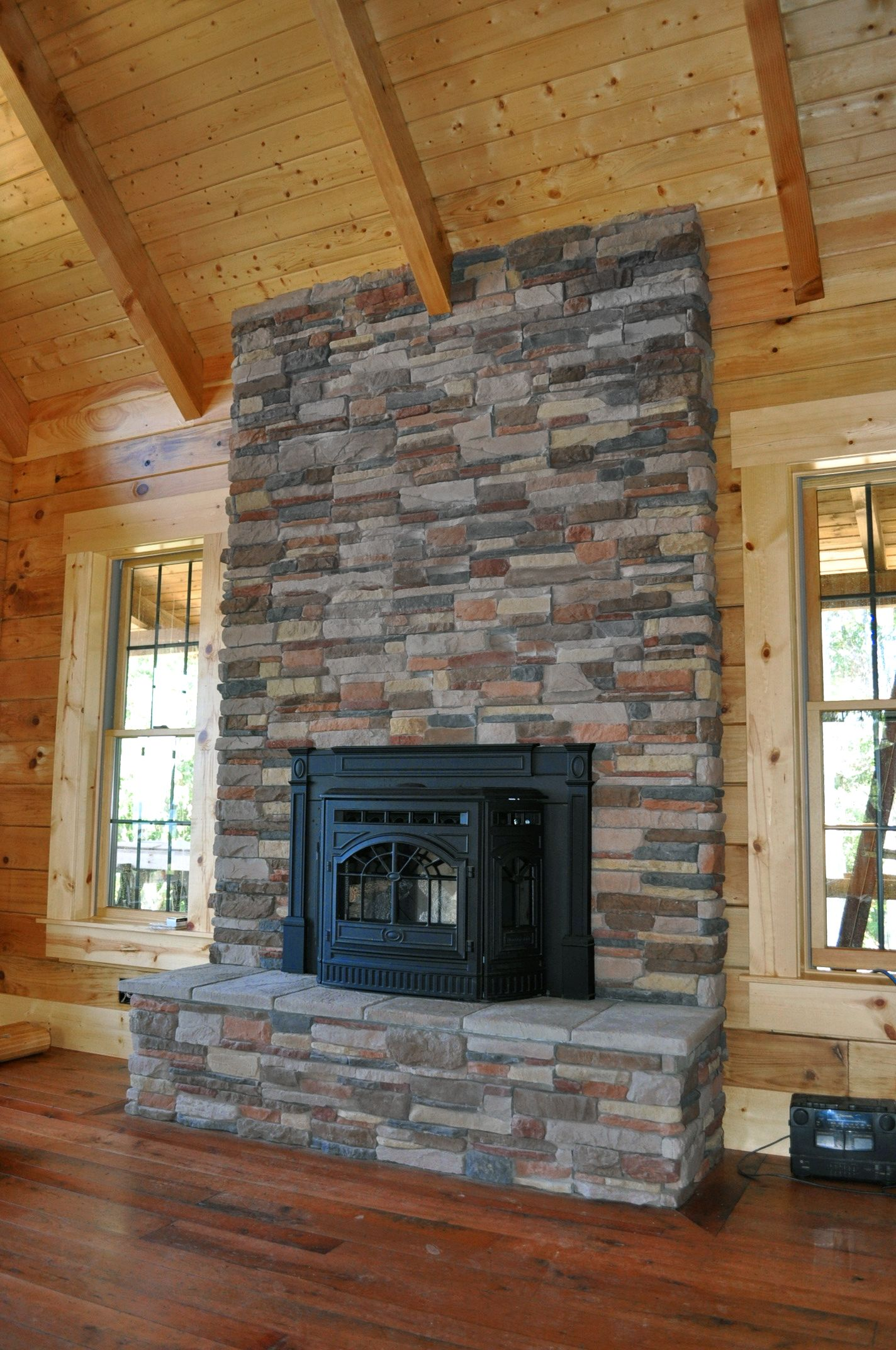 Fireplace Rocks New M Rocks P Series aspen Ledge Stone Fireplace with Images
