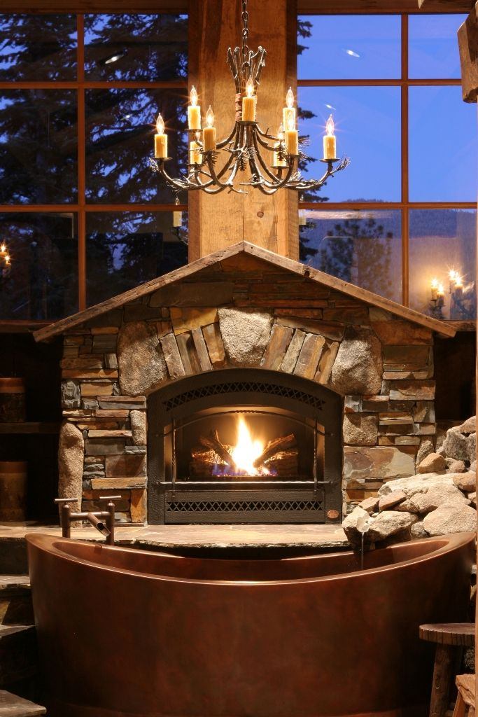 Fireplace Rocks Unique 34 Beautiful Stone Fireplaces that Rock