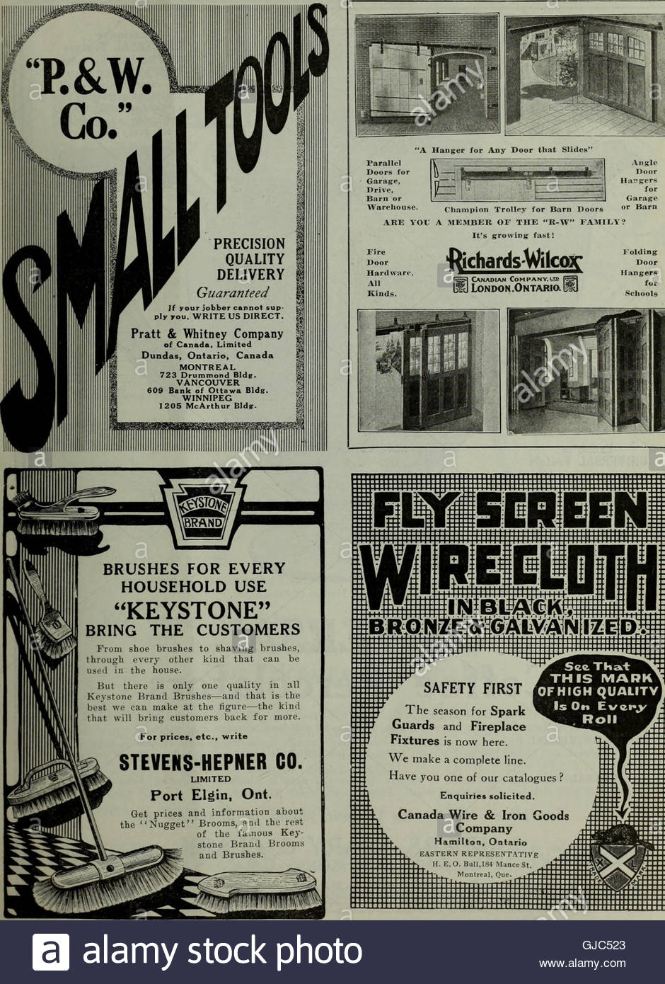 Fireplace Warehouse Etc Unique Hardware Merchandising January March 1916 1916 Stock