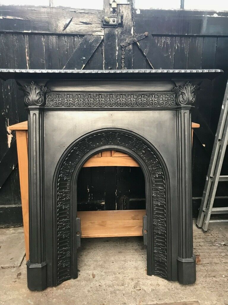 Metal Fireplace Mantel Luxury Victorian Cast Iron Fireplace Mantel Surround In Stockport Manchester