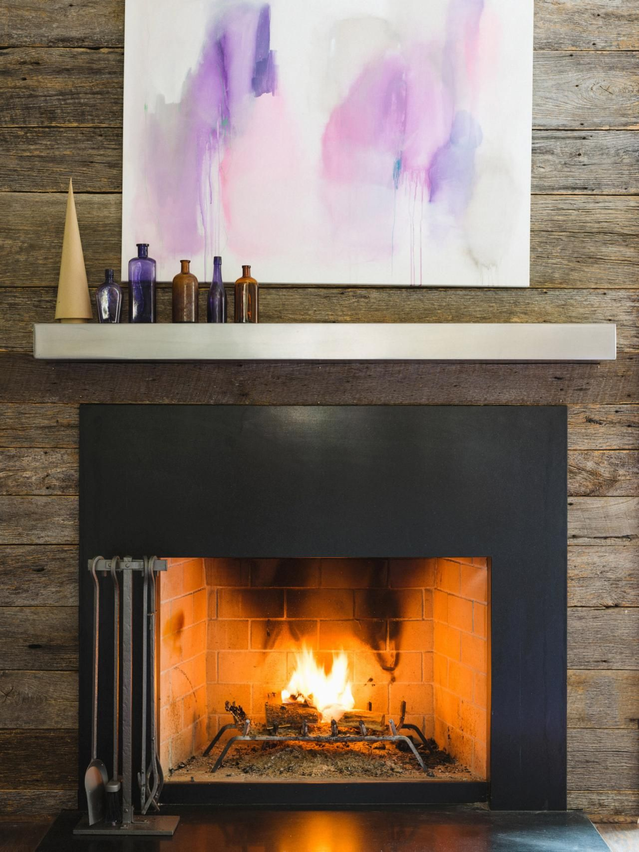Metal Fireplace Mantel New Choosing A Fireplace Mantel which Look is Right for You