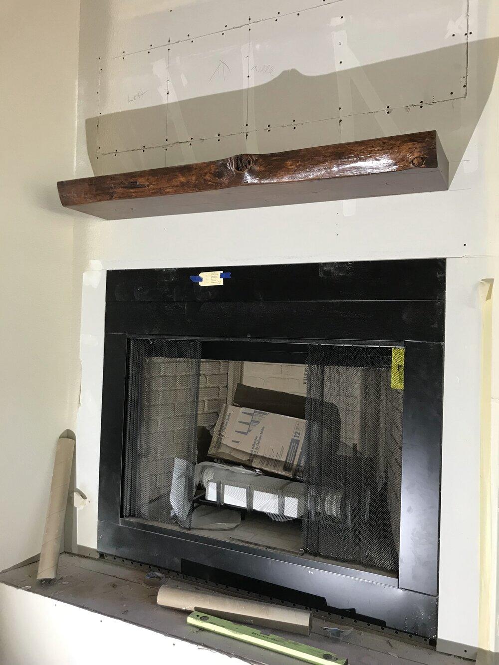 Metal Fireplace Mantel Unique Custom Fireplace Mantels Serving Central oregon — Frank L