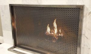 79 Fresh Modern Fireplace Screens